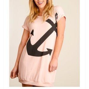 💖 Blush Anchor Dress
